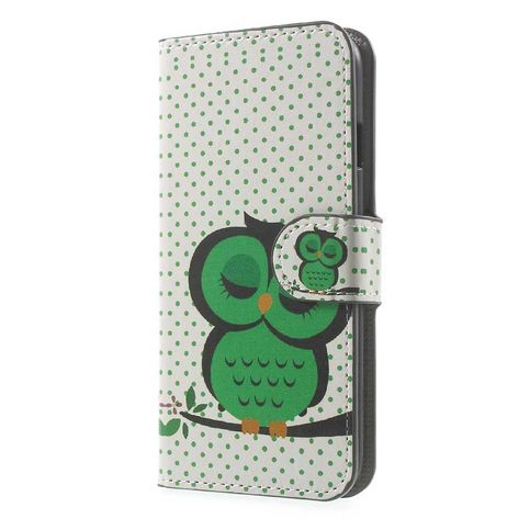 Wallet Case Uil Wit